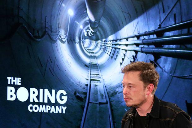 Elon Musk presents underground LA tunnel project | Bangkok Post: news