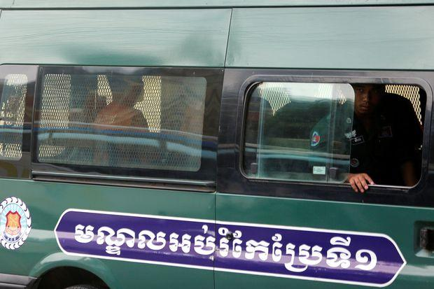 Cambodia court extends detention of radio journalists | Bangkok Post: news