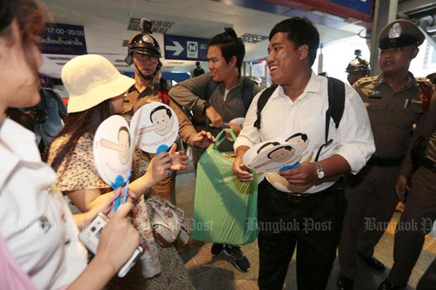 Pro-polls activists threatened by police to stop activity | Bangkok Post: news