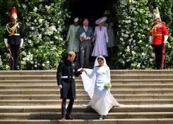 Five key moments from Britain's royal wedding | Bangkok Post: news