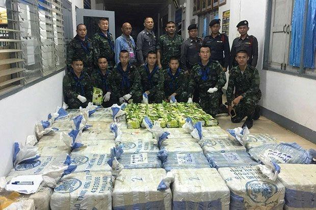Massive speed haul in Chiang Rai   Bangkok Post: news