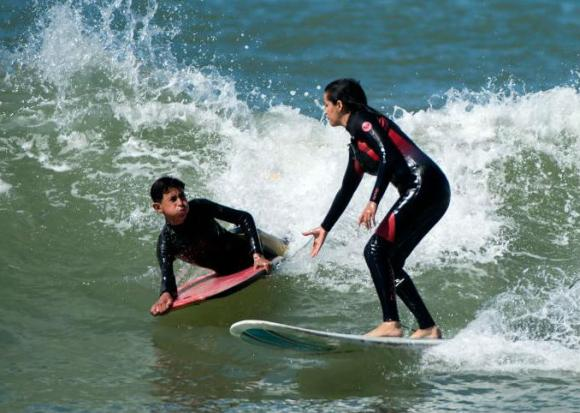 Morocco's women surfers ride out waves and harassment | Bangkok Post: news