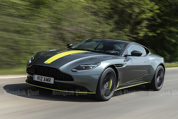 Aston Martin DB11 AMR (2018) review