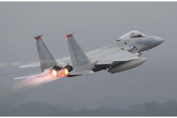 Kadena Grounds F-15 Flights After Crash; Pilot in Serious Condition