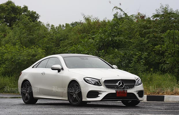 Mercedes-Benz E200 Coupe AMG Dynamic (2018) review
