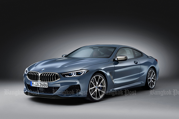 BMW reveals 8 Series Coupe for 2018