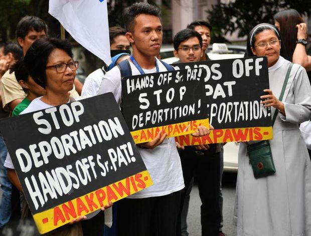 Philippines Strikes Down Order To Expel Australian Nun Who Joined Protest