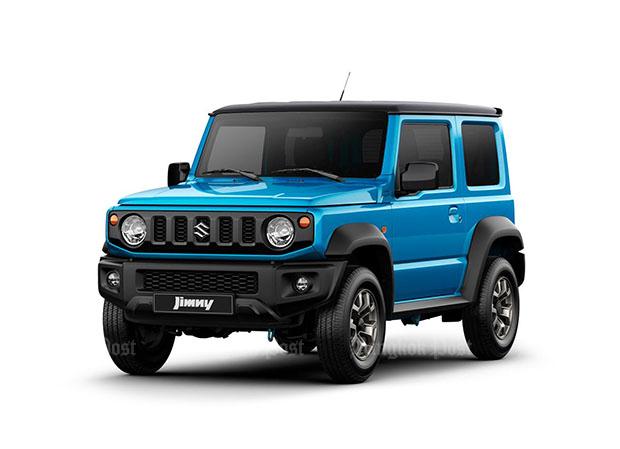 Suzuki reveals all-new Jimny for 2019