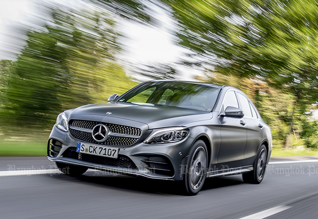 2018 Mercedes-Benz C-Class facelift first drive review | Bangkok