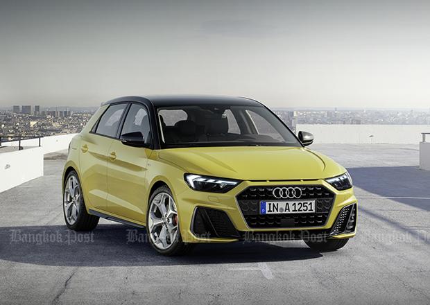2018 Audi A1 Sportback targets Mini