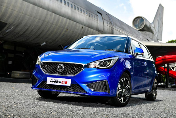 2018 MG 3 facelift: Thai prices and specs