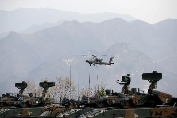 US indefinitely suspends some training exercises with S.Korea