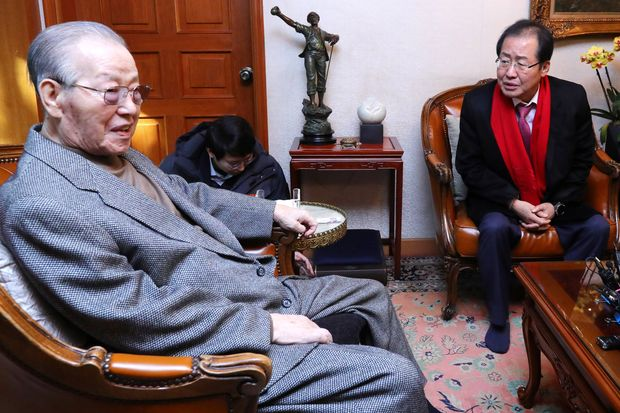 Ex-S.Korean premier Kim Jong-pil, spy agency founder, dies