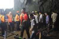12 feared trapped in Mae Sai cave, search underway