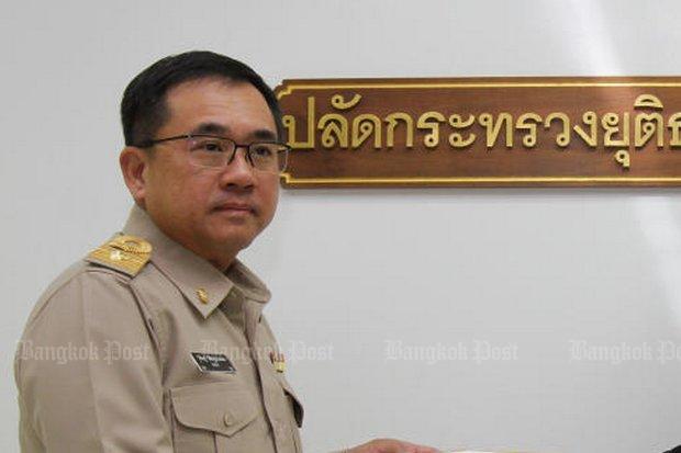 Deputy permanent secretary for justice Wisit Wisitsora-at: Computer crimes require international cooperation. Image: Tawatchai Kemgumnerd/Bangkok Post