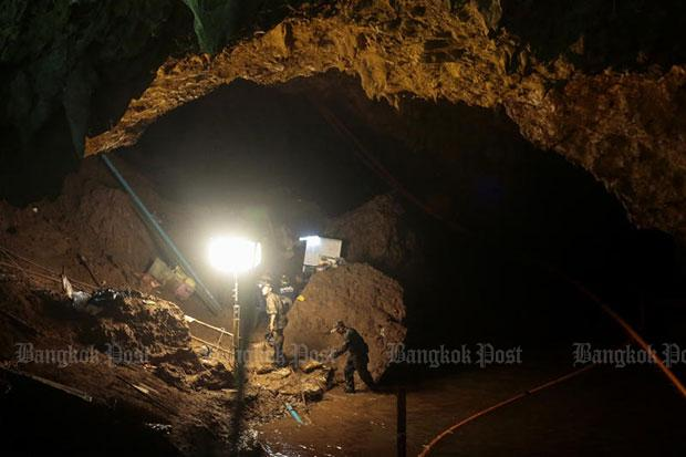Soccer players speaking from Thai cave say they are healthy