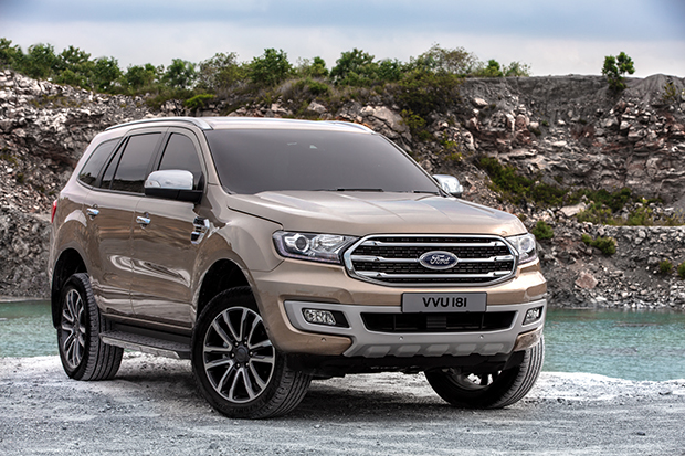 2018 Ford Everest facelift: Thai prices and specs ...