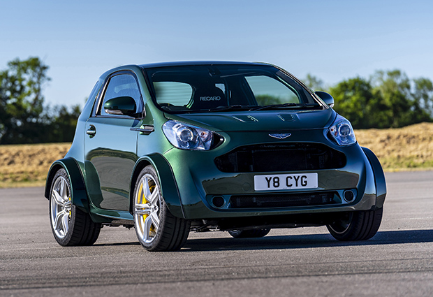 Aston Martin brings high-powered Cygnet city car to Goodwood