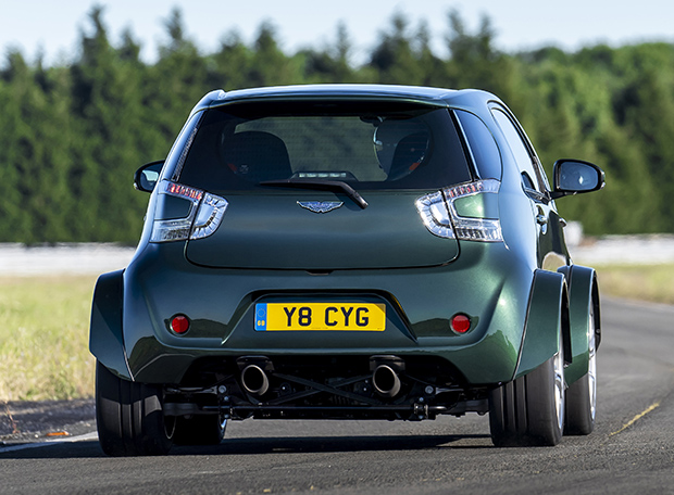 Big things, small packages: Aston Martin reveals V8 Cygnet