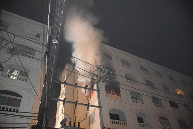 Pattaya condo hit by fire | Bangkok Post: news