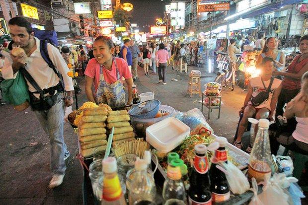Street vendors to get kicked off Khao San Road