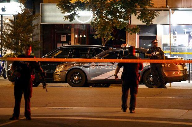 At least 9 injured after shooting in busy Toronto neighbourhood