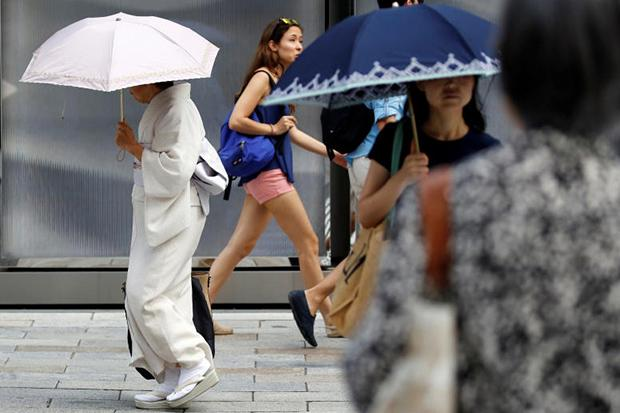 Heatwave kills 30 people in sweltering Japan's record-breaking temperatures