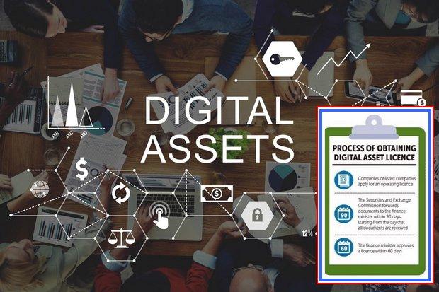 Digital asset licences at hand
