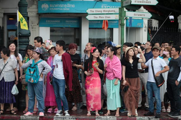 Chinese arrivals could fall 8% in August
