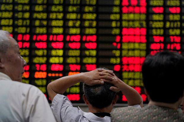 China loses spot as world's number two stock market