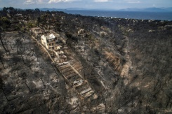 Police, fire chiefs replaced after Greek fire disaster: official | Bangkok Post: news