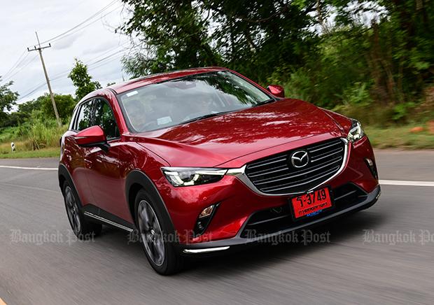 Mazda CX-3 facelift (2018) review