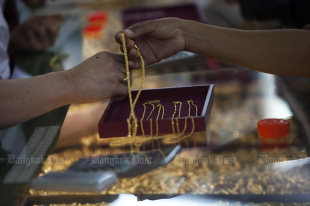 Gold prices up B50 to B19,150