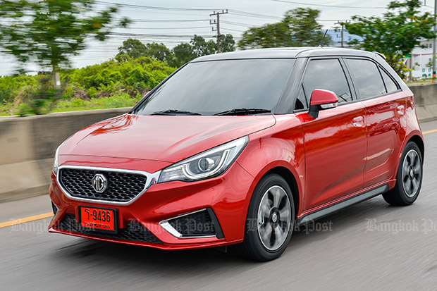 MG 3 1.5 facelift (2018) review