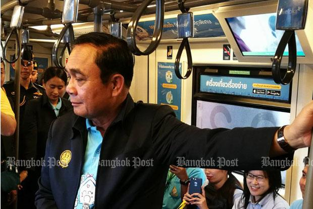 PM Prayut wants Bangkok traffic relief in 3 months