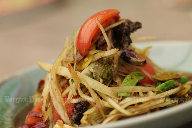 Som tam 5th on Lonely Planet's top 10 best dishes