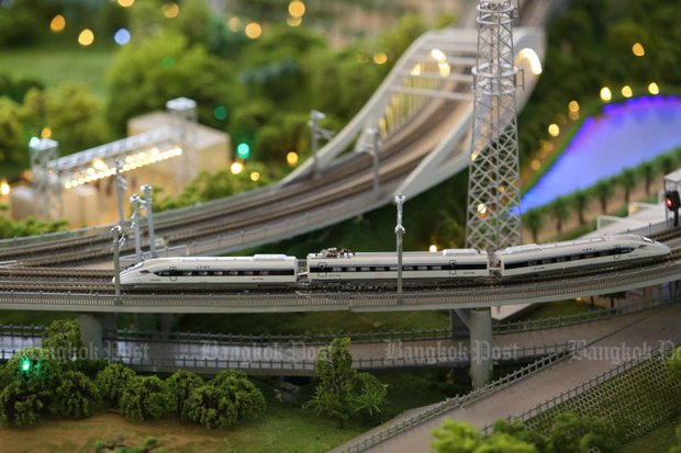 Thai-Sino rail contract bids to kick off by year end