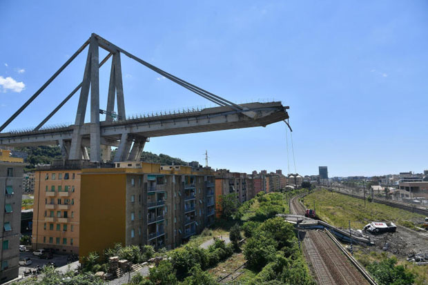Italy looks to place blame for bridge collapse that killed 39