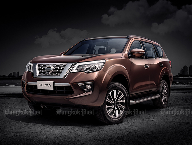 2018 Nissan Terra: Thai prices and specs