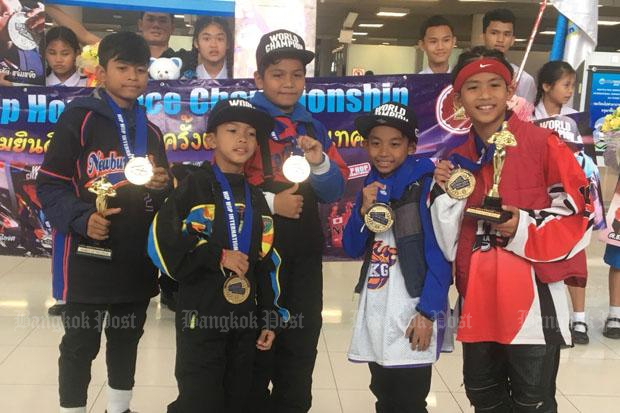 Thai kids return as world hip hop champions