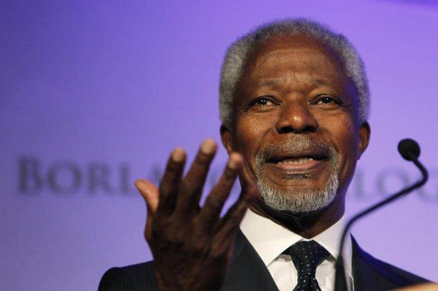 Kofi Annan: heart-felt tribute to a 'great statesman'