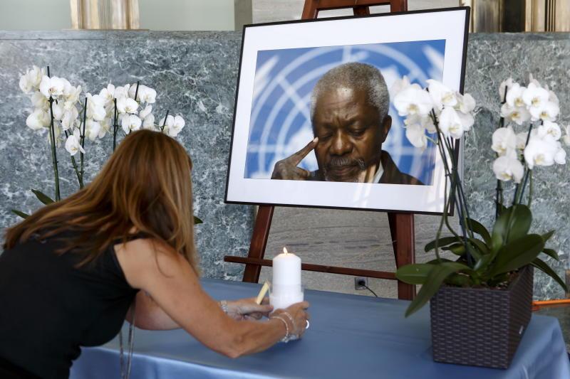 HM King sends condolences over Kofi Annan's death