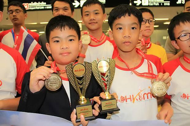 Students bring home 141 medals from maths Olympiad | Bangkok Post: news