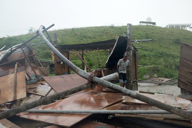 Manila confirms 12 typhoon deaths, HK on high alert