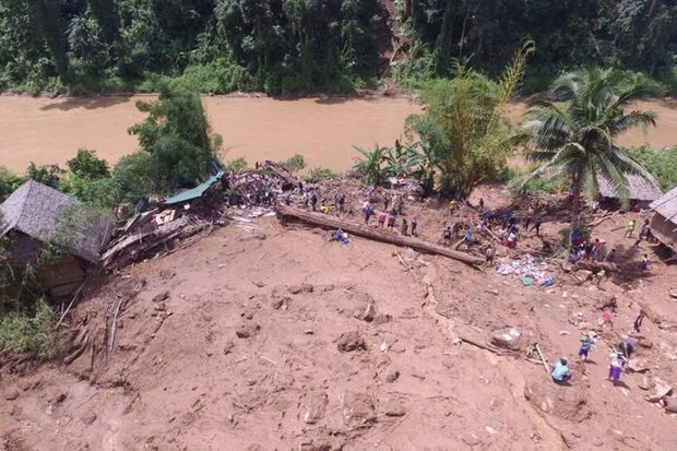 7 missing in Mae Hong Son floods, camps at risk