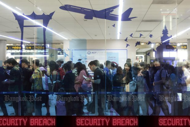 Airport scare sparks security overhaul
