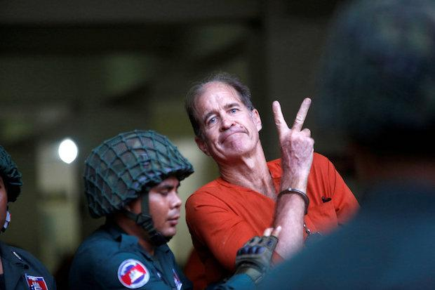 Cambodia pardons jailed Aussie filmmaker in spying case after his apology