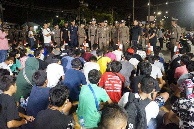 106 bike racers held, Facebook page closed | Bangkok Post: news