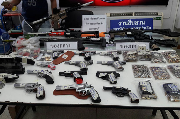Nephew of tobacco firm owner caught, firearms seized