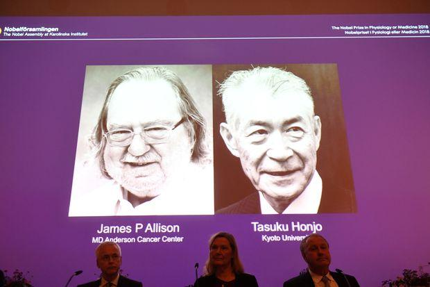 Nobel Prize in Medicine Awarded to Scientists Who Developed Breakthrough Cancer Treatment